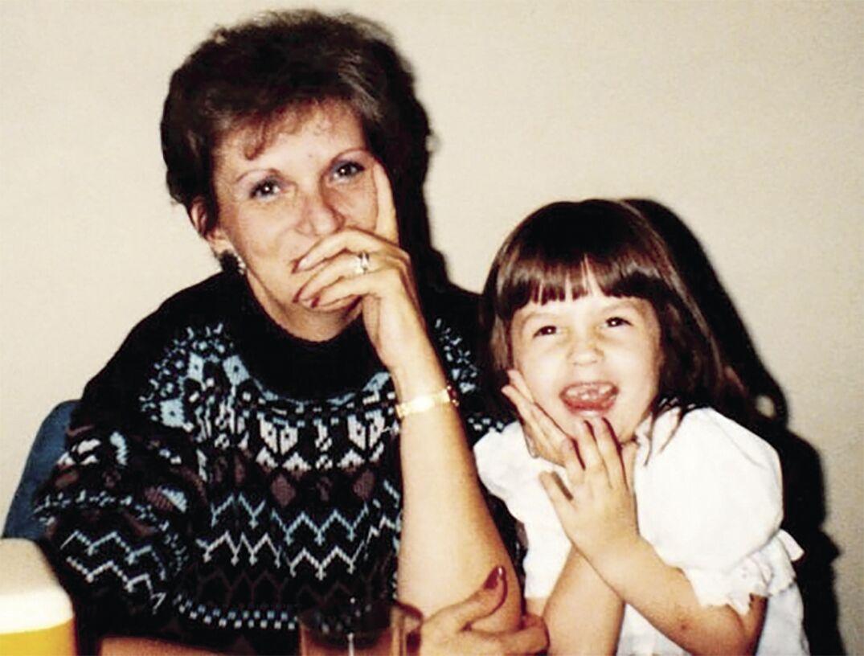 Mallory Evans and Grandma