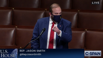 Rep. Jason Smith debating impeachment