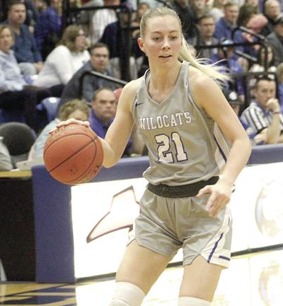 Curley scored her 1,000th career point for Culver-Stockton