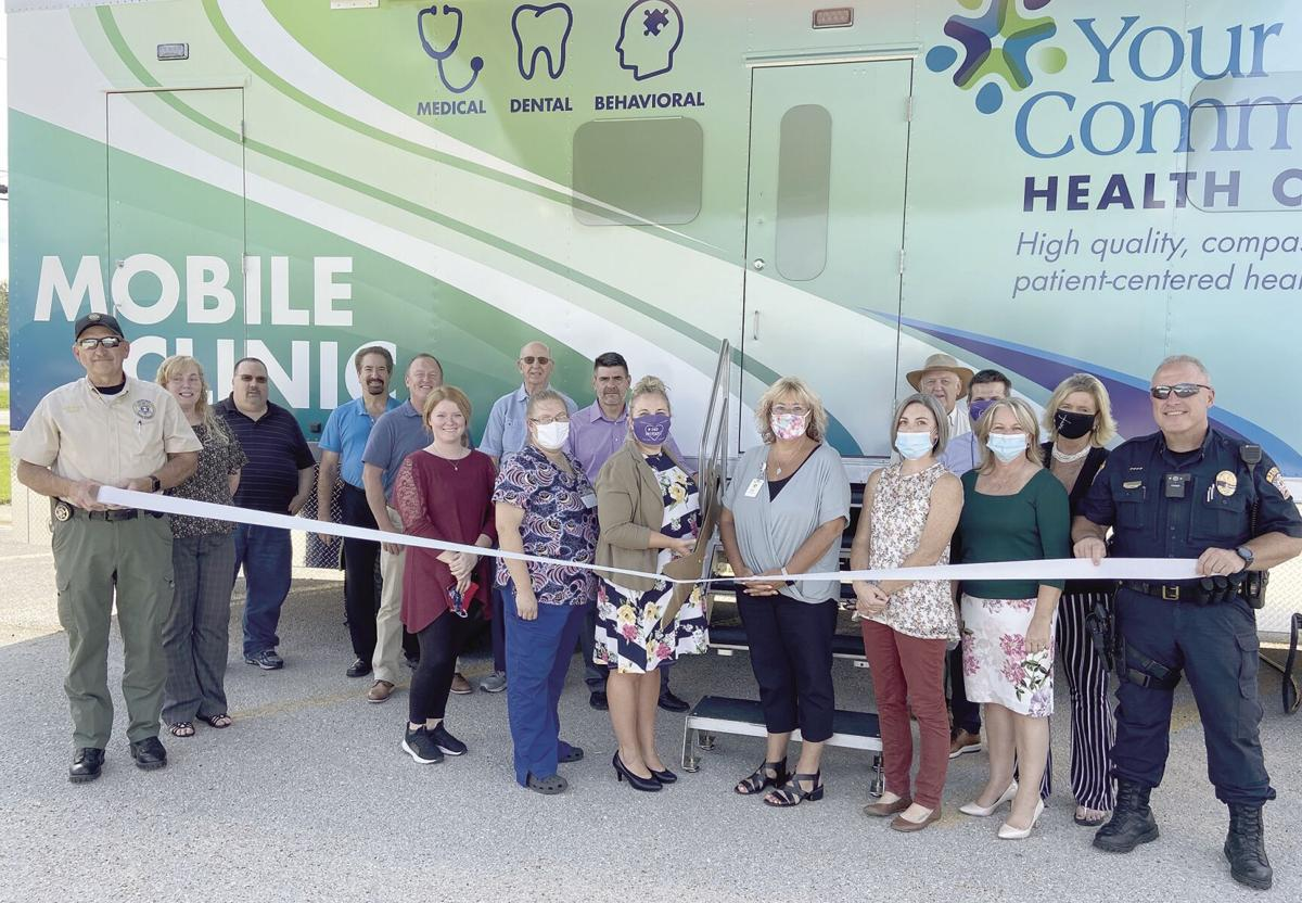 Ribbon Cutting YCHC Mobile Clinic