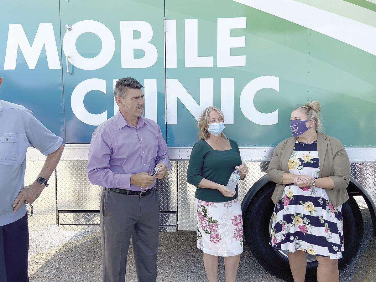 Mobile Clinic opening