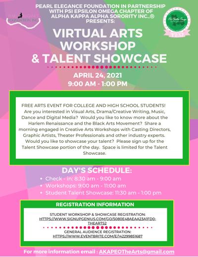 HS & College Student Workshops & Talent show