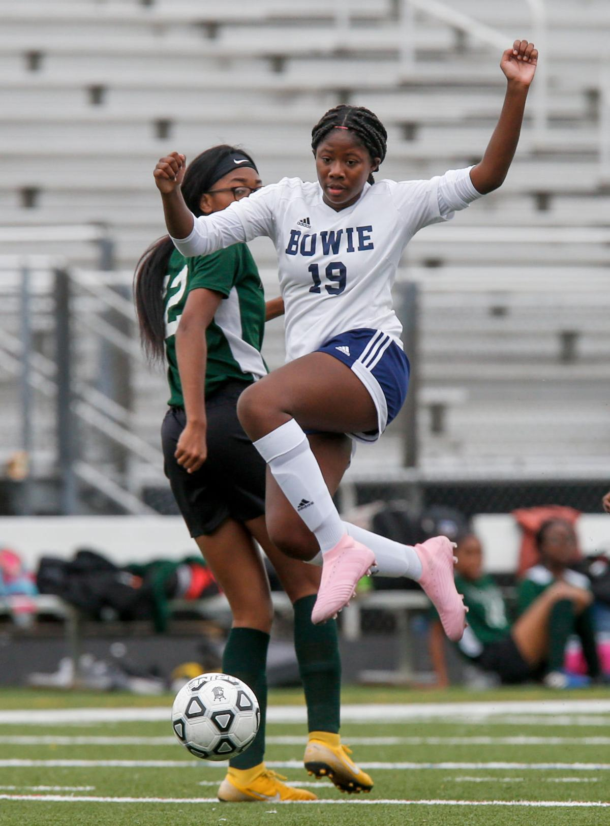 MPSSAA Girl's Soccer Playoffs: Bowie vs Flowers