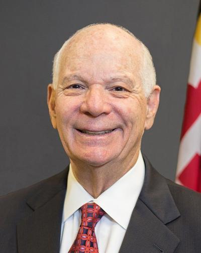 Ben Cardin official Senate portrait
