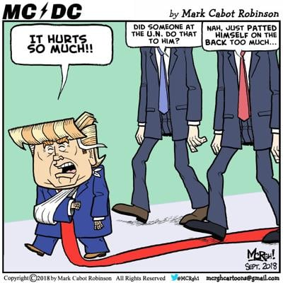 MC DC – The UN Is So Mean To Trump