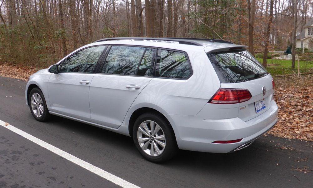 Volkswagen Golf SportWagen rear – cropped for web