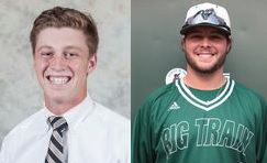 Cal Ripken League named Jason Reynolds (left) and Alec Burleson as Players of the Week. COURTESY PHOTOS