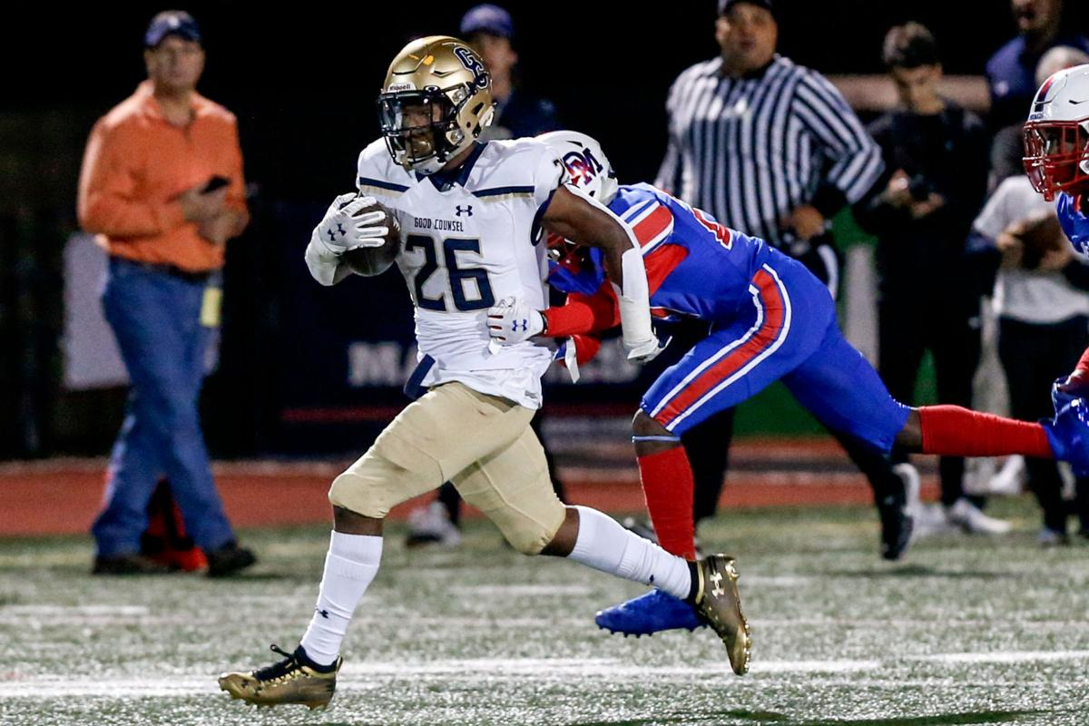 WCAC Football: Good Counsel vs DeMatha