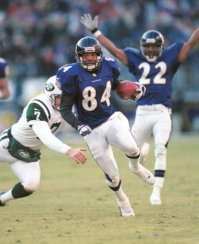 Jermaine Lewis Photo credit Baltimore Ravens