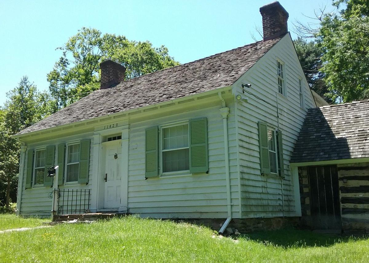 This house on Old Georgetown Road is being restored to the way it looked during the 1800s. PHOTO BY SUZANNE POLLAK