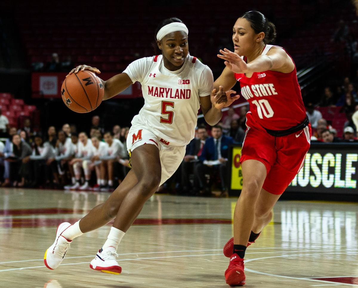 B1G WomenÕs Basketball: Ohio State vs Maryland