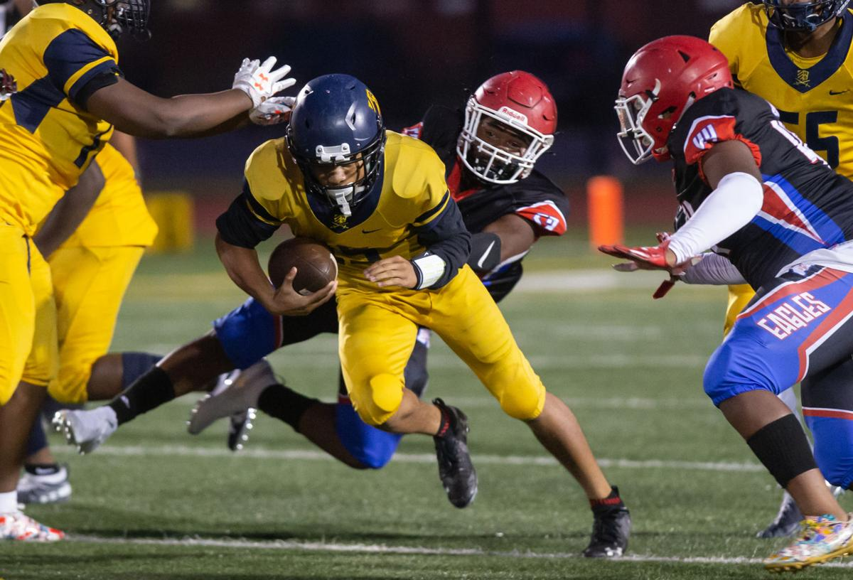 High School Football: National Christian Academy vs Riverdale. Baptist
