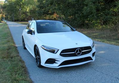 2019 Mercedes Benz A220 front