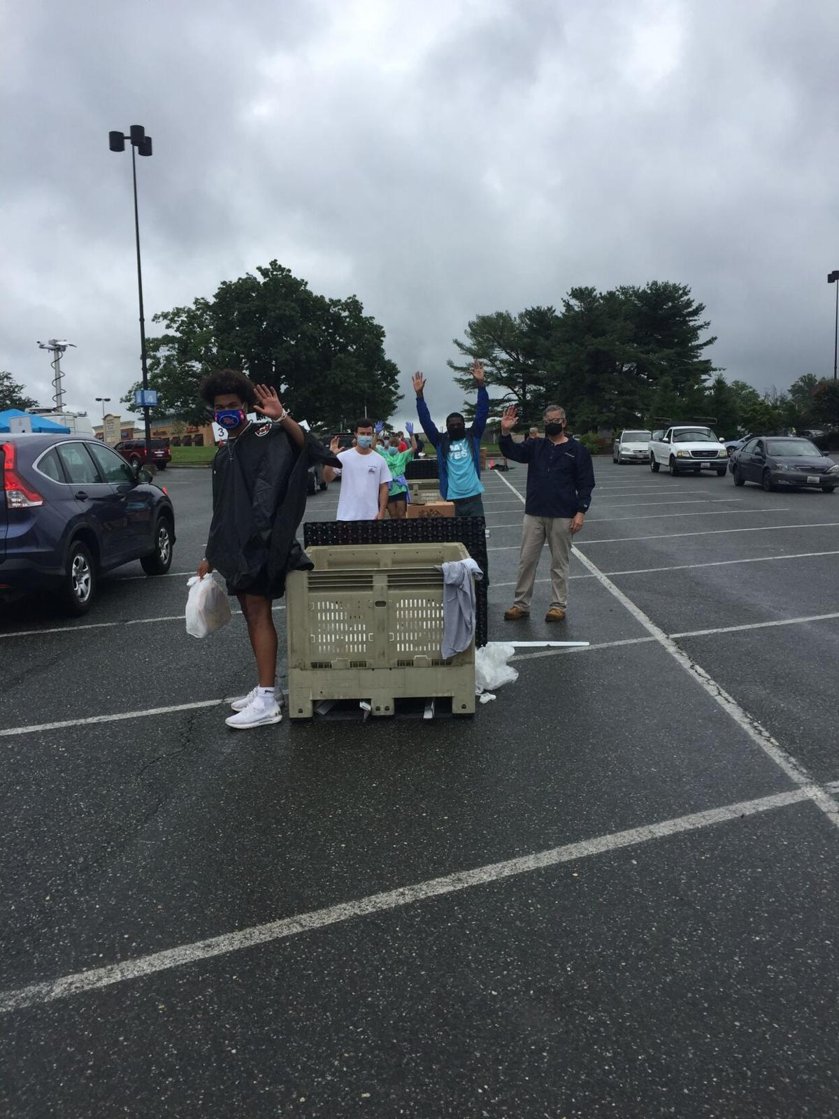Catholic Charities Food Giveaway at Lakeforest Mall in Gaithersburg 0