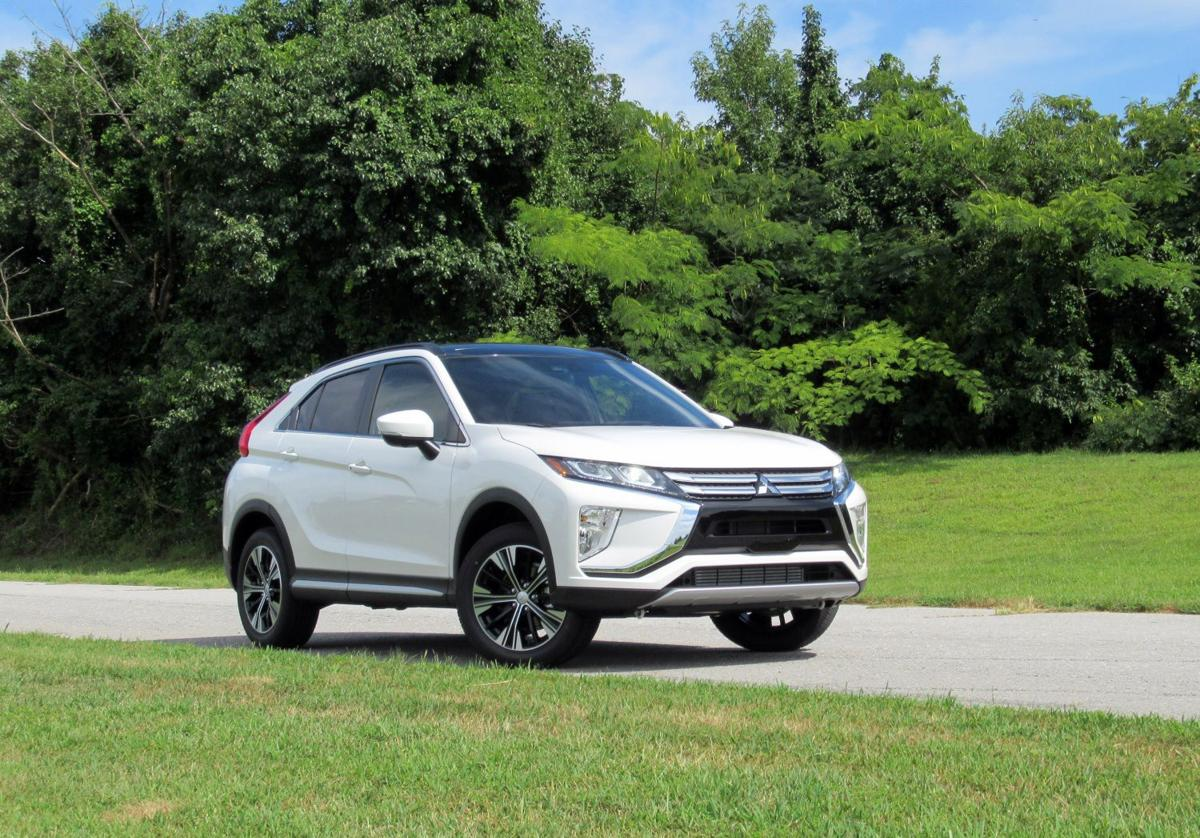 1 2019 Mitsubishi Eclipse Cross front