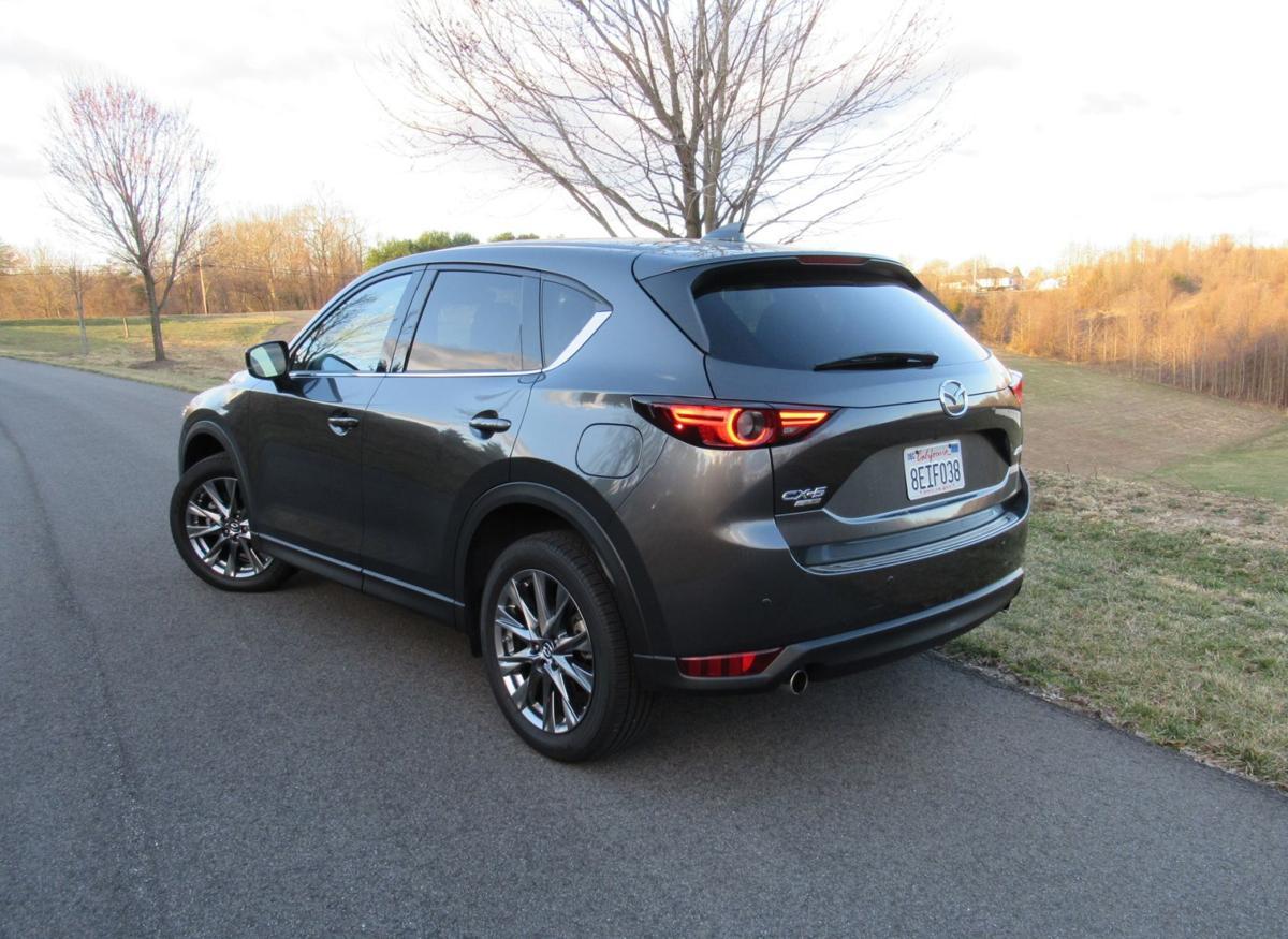 2019 Mazda CX-5 rear – uncropped