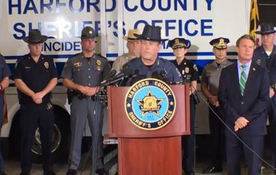 Harford County Sheriff press conference on Rite Aid shooting