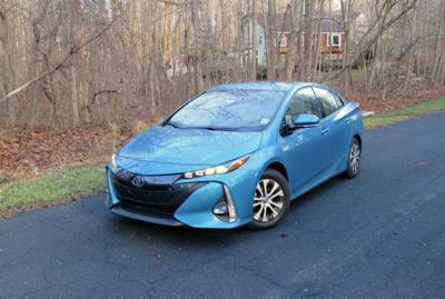 2020 Toyota Prius Prime front