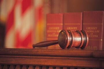 Judge Court gavel stock