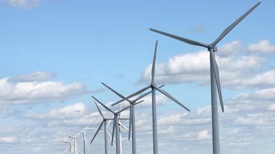 Windmills stock