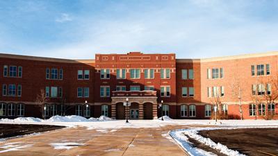 Sheridan Junior High School stock