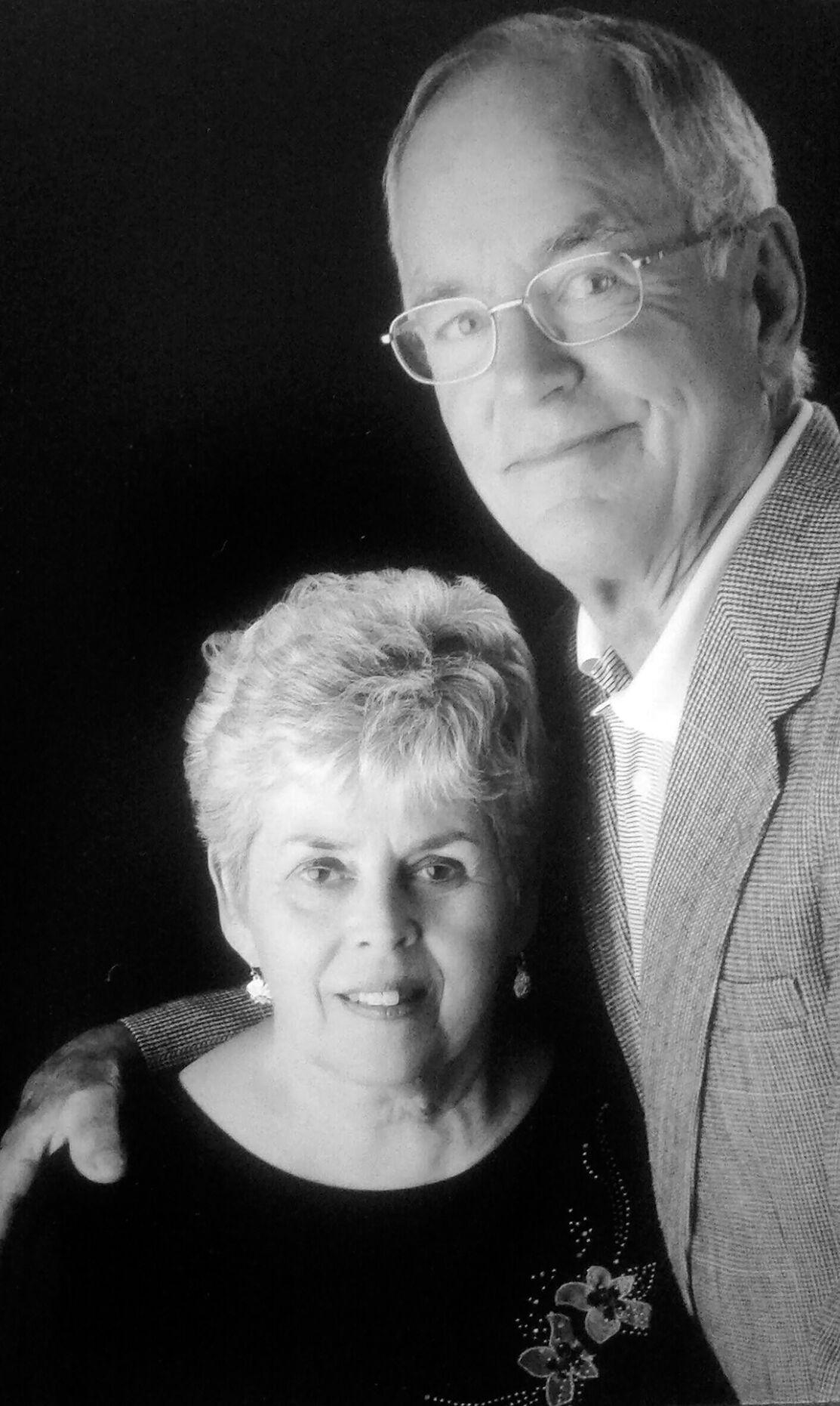 Bob and Sally Carroll anniversary