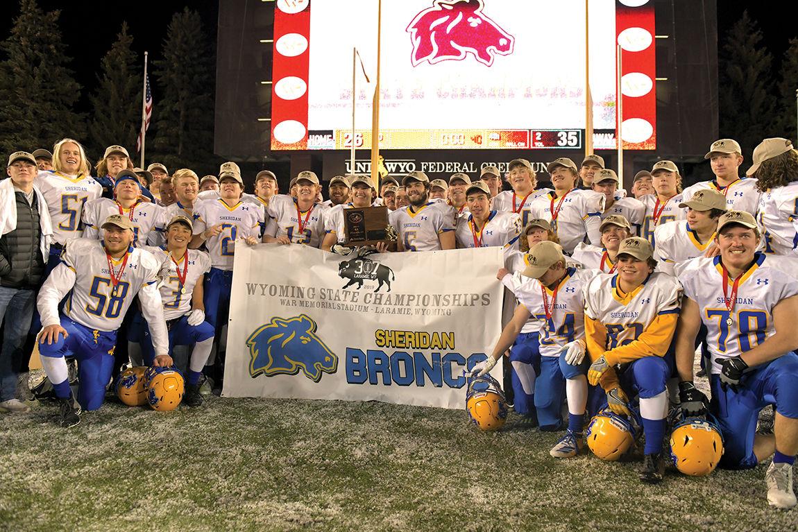 Sheridan High School state championship football team
