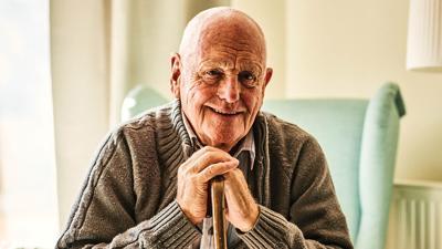 senior citizen elderly stock