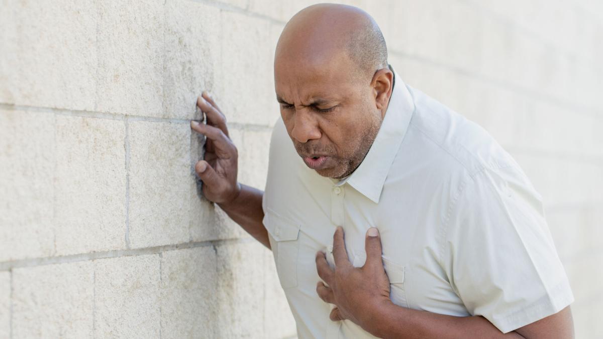 Man chest pain