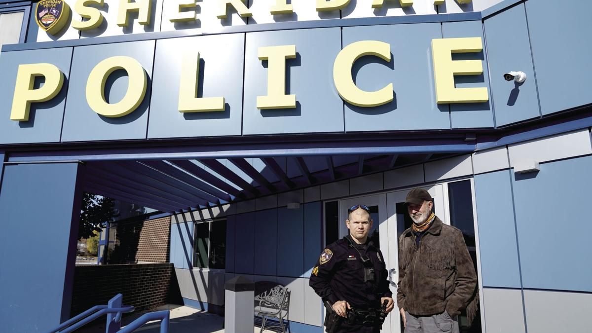 """Sheridan police sergeant pays for veteran's hotel room with """"Helping Hands"""" funds"""