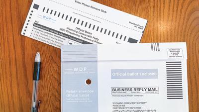 ballot Democratic caucus