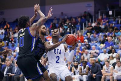 Sophomore transfer returns to his hometown to join UTA men's basketball team