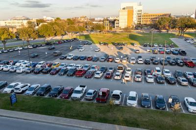 Parking and Transportation Services reallocates 30 spaces on Lot 34 for student parking