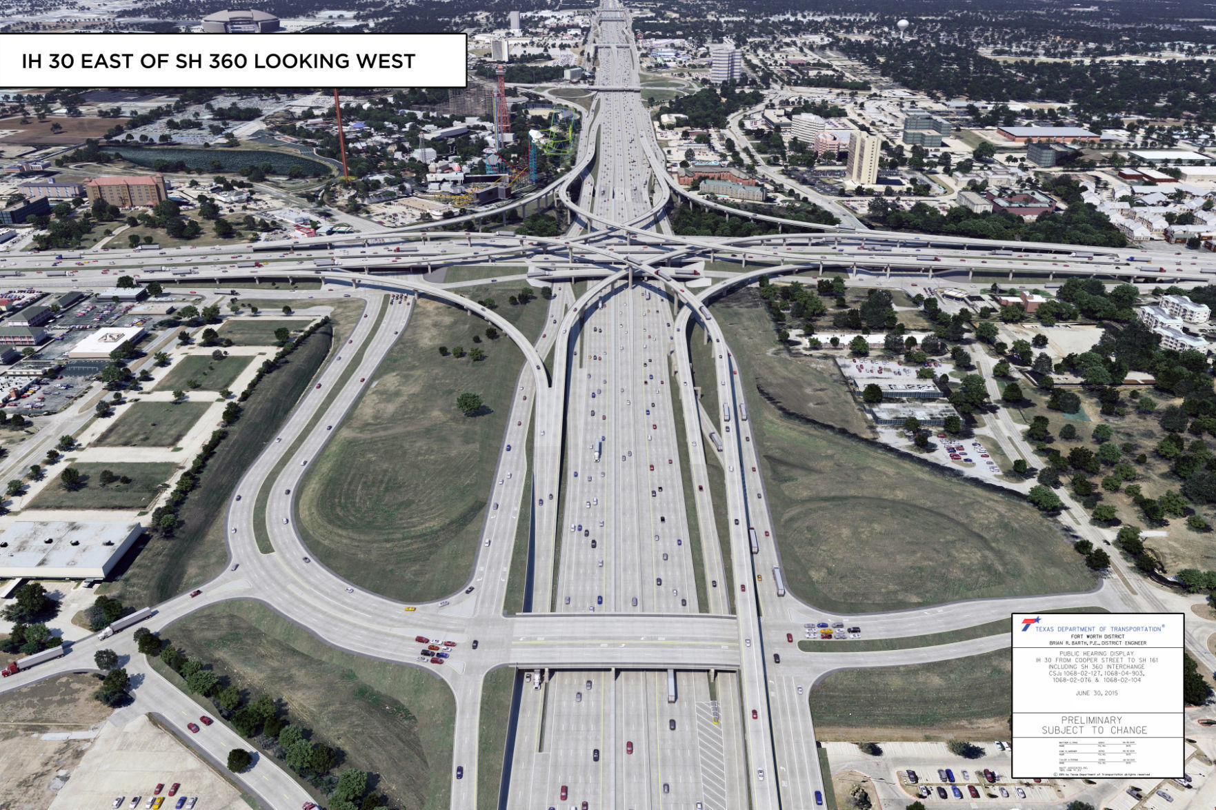 Lamar Boulevard, Park Row Drive closes this week for construction