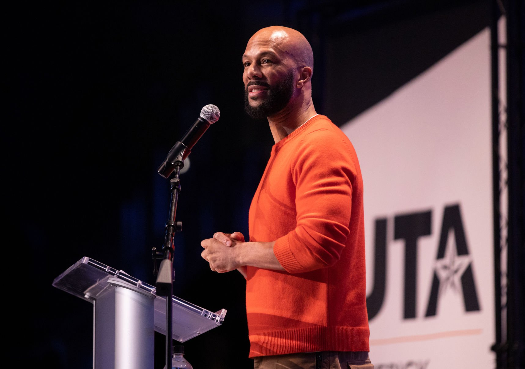 Artist and activist Common speaks on personal truth, mindfulness during the Maverick Speakers Series
