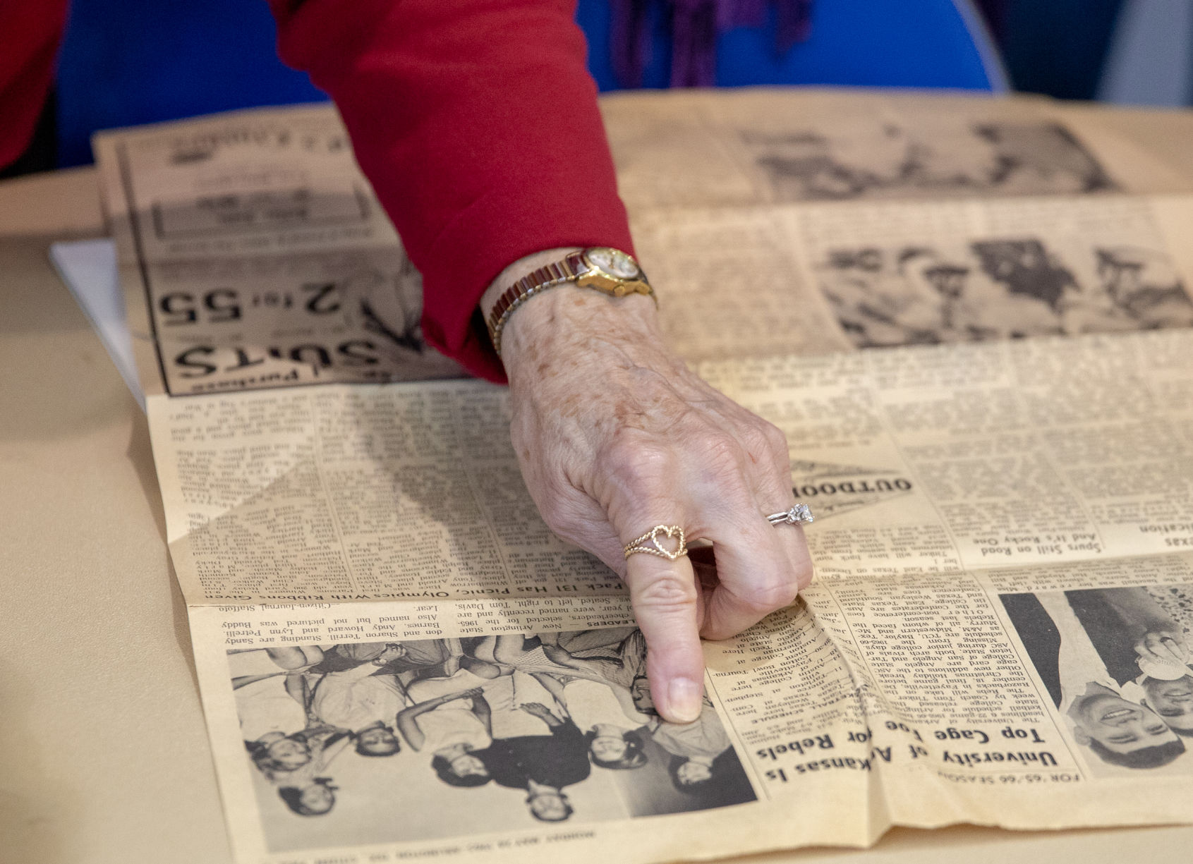 Over 50 years later, a UTA cheer team reunites for a day of nostalgia