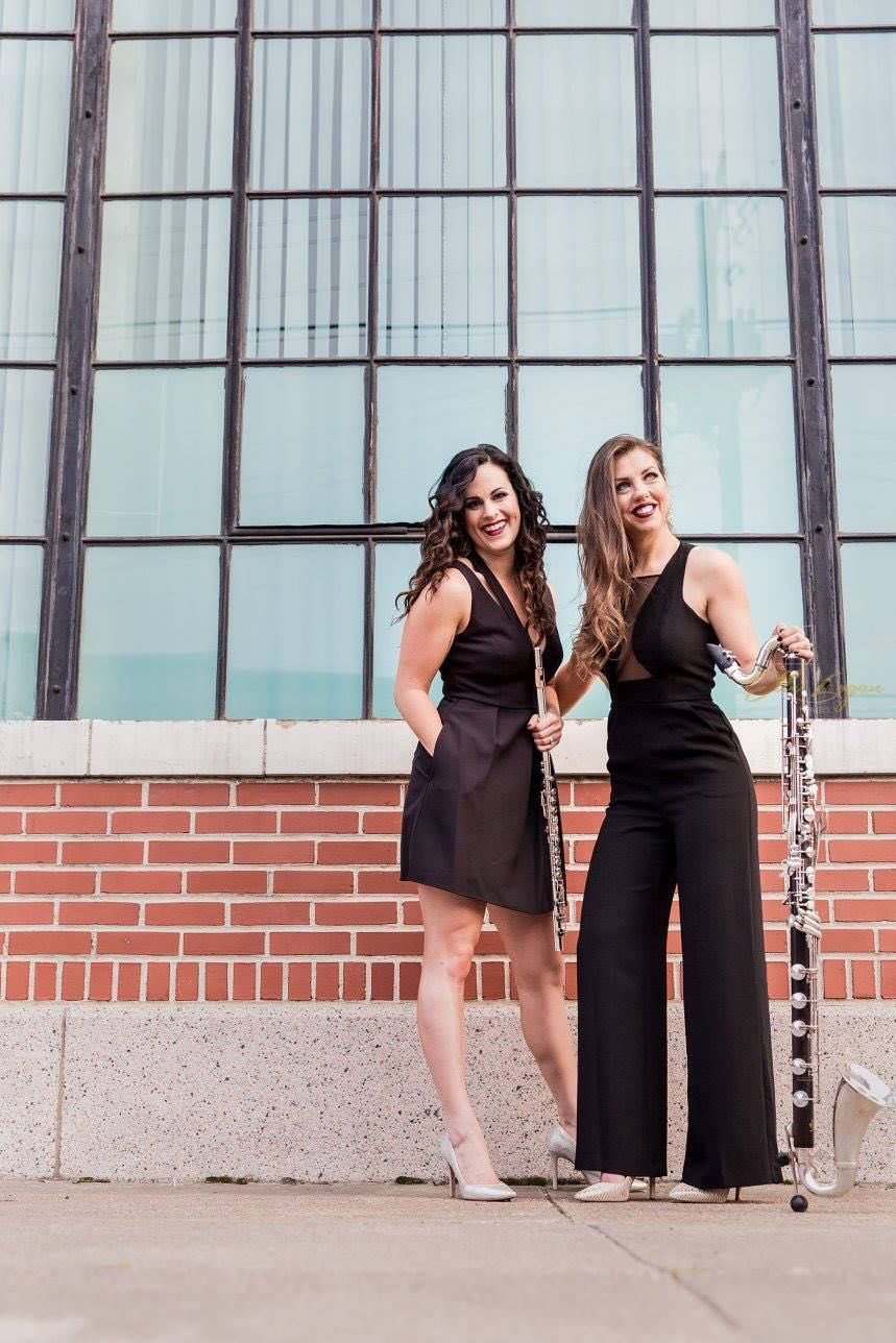Bass clarinet, flute duo WoodWired's debut album marks UTA Records' first release