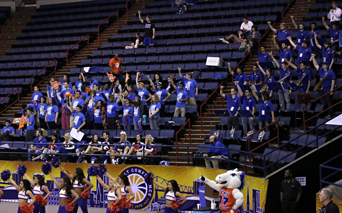 Students show athletic support in New Orleans
