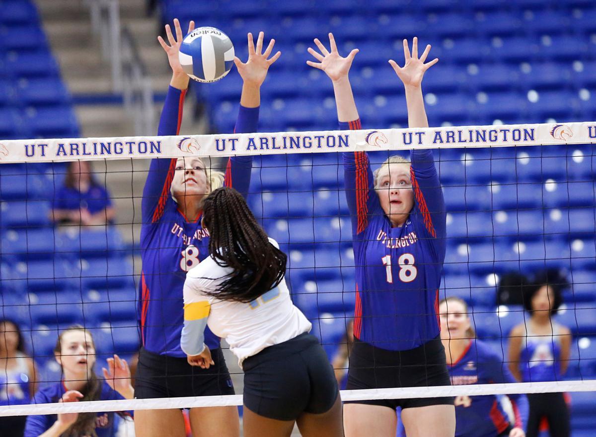 Photos: UTA sweeps Southern University, falls to University of North Carolina at Greensboro