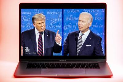 First presidential debate between Trump, Biden marked by heated interruptions, scathing accusations