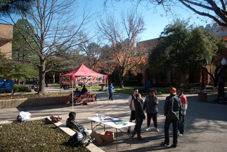 Kappa Alpha Order fraternity entices potential members with