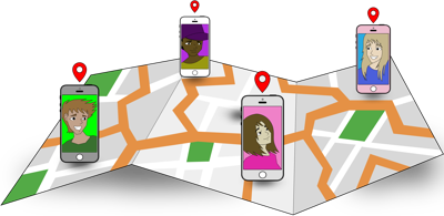 Students use location sharing apps as a safety measure