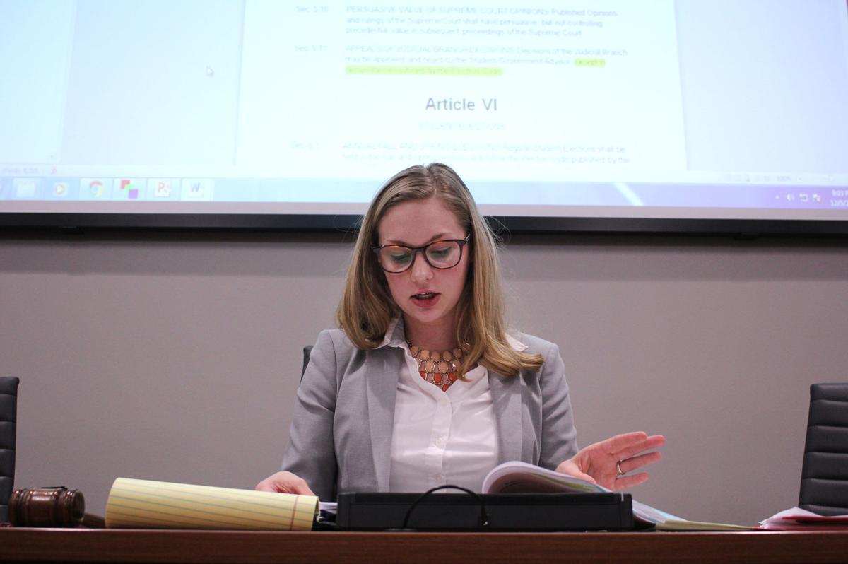 Student Senate adopts student feedback survey resolution