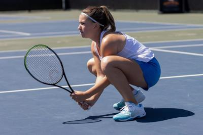Freshman tennis player Bruna Casasampere seeks growth in first year as a Maverick