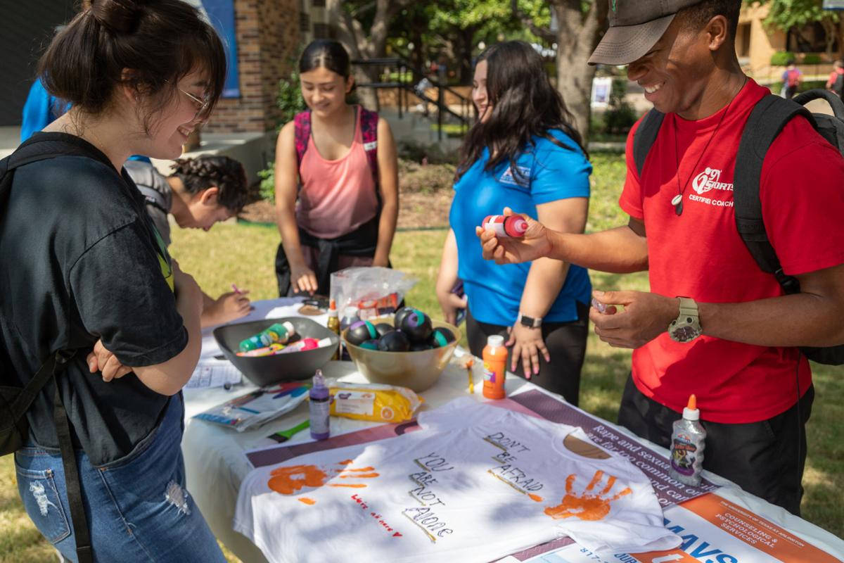 Counseling and Psychological Services hosts Fresh Check Day at Brazos Park
