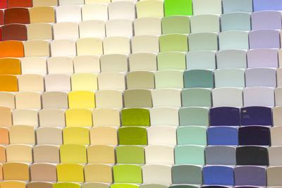 Students can use color theory to personalize their space