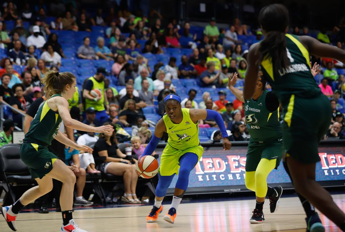 Photos: Dallas Wings fall to Seattle Storm in season finale