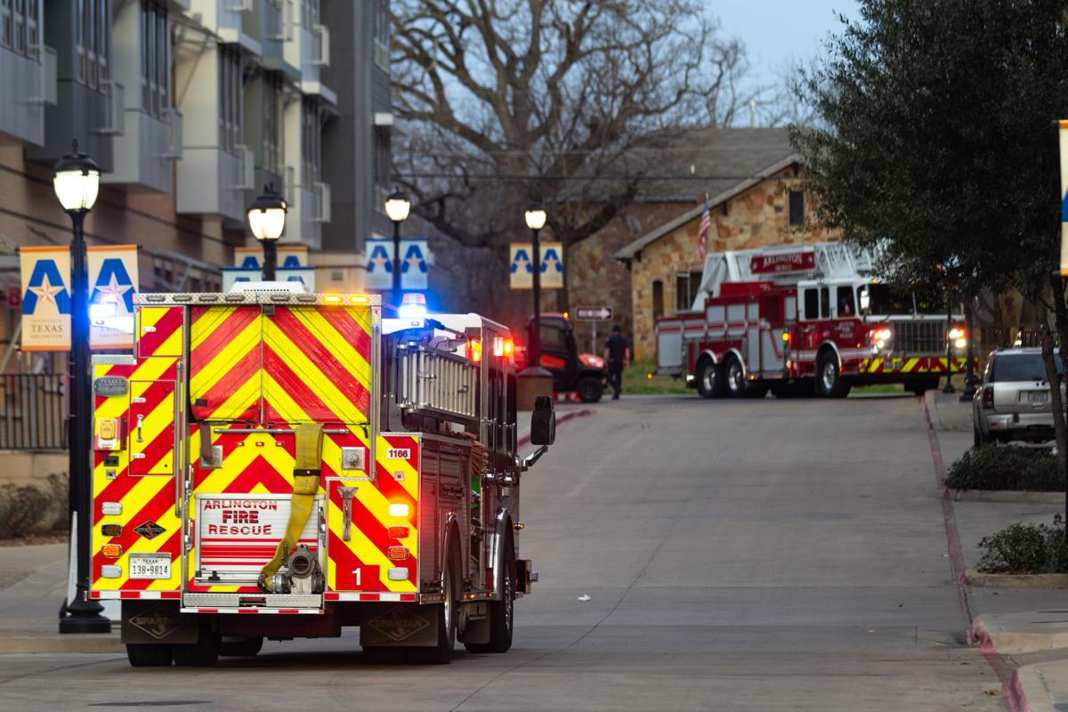 Vandergriff Hall evacuated because of unidentified smell
