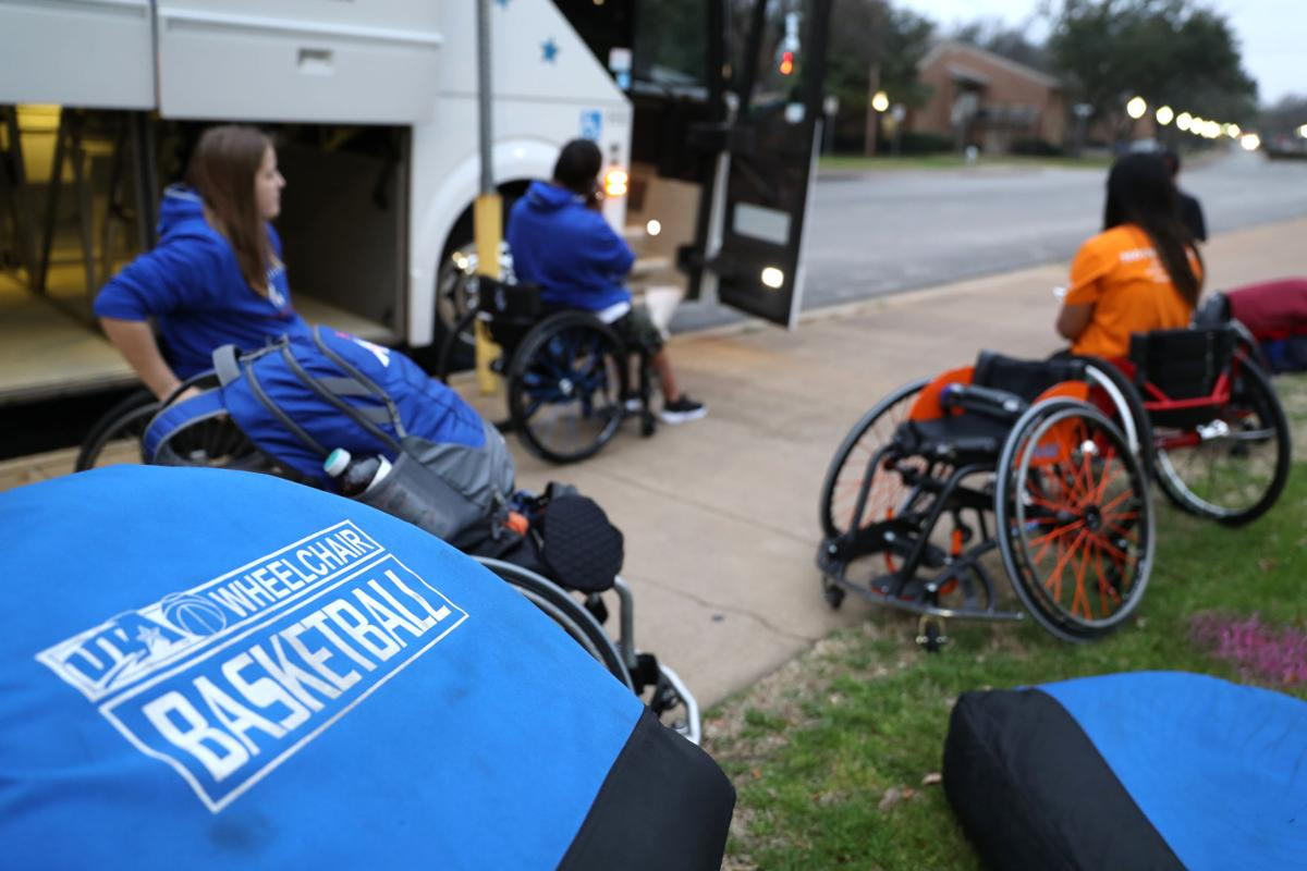 Photos: Wheelchair basketball teams travel to Illinois for national tournament