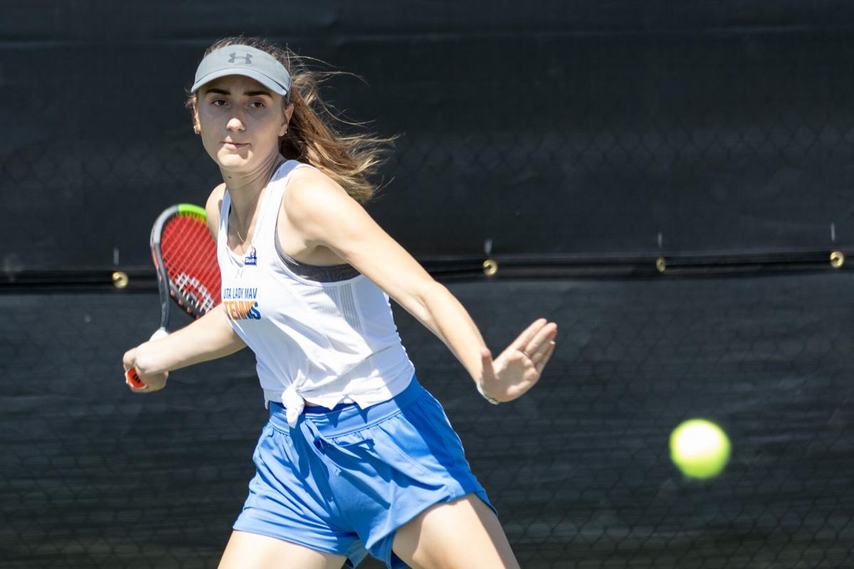 Photos: UTA women's tennis ends four-game winstreak with loss to Southern Methodist University